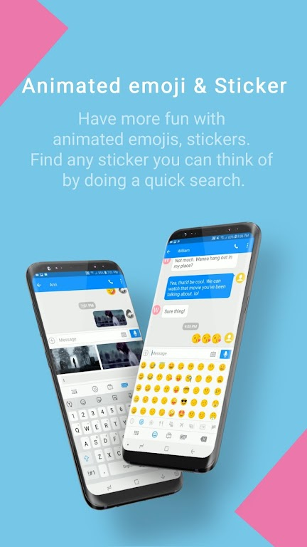 Handcent Next SMS - Best texting w/ MMS & stickers  poster 4