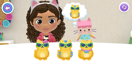 Gabbys Dollhouse: Play with Cats android2mod screenshots 7