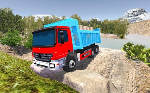 Offroad Cargo Truck Driver Simulator apklade screenshots 1