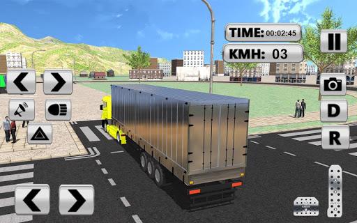 City Truck Pro Drive Simulator screenshots 12