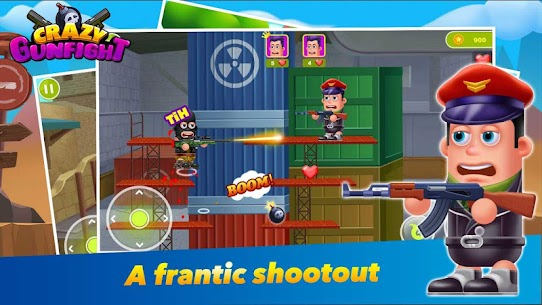 Crazy Gun Fight Hack Online [Android & iOS] 1