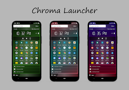 Chroma Launcher For Android 1