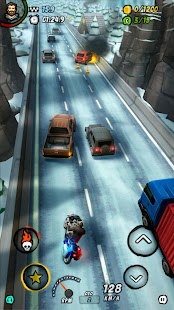BURNING ASPHALT: Moto Screenshot
