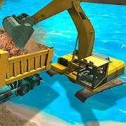 River Sand Excavator Simulator 3D