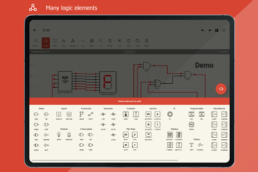 Logic Circuit Simulator Pro android2mod screenshots 19