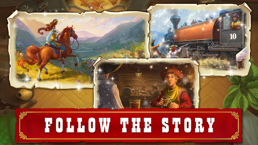 Jewels of the Wild Westu30fbMatch 3 Gems. Puzzle game apktram screenshots 18
