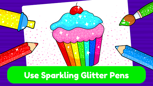 Learning & Coloring Game for Kids & Preschoolers  screenshots 5