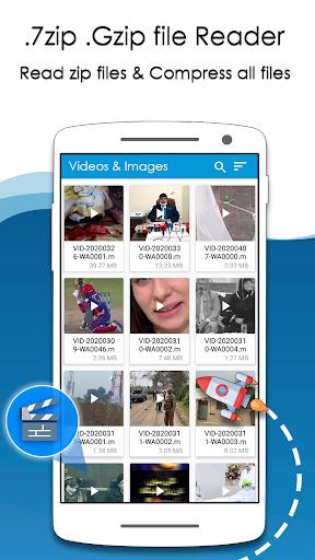 Rar Extractor for Android: Zip Reader, RAR Opener 1.7.2 screenshots 3