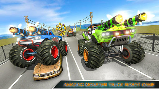 Monster Truck Racing Games: Transform Robot games 1.4 com.mizo.monster.truck.games apkmod.id 2