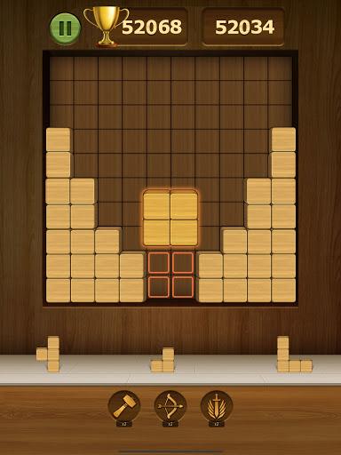Wood Block Puzzle 2021 - Wooden 3D Cube Puzzle Gem goodtube screenshots 19