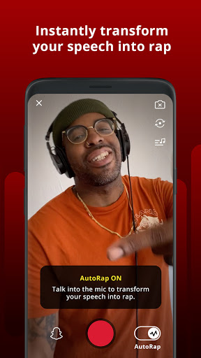 Foto do AutoRap by Smule: Record rap over beats w/vocal FX