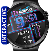 Roboxic HD WatchFace Widget Live Wallpaper