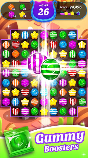 Gummy Candy Blast - Free Match 3 Puzzle Game 1.4.4 screenshots 2
