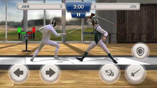 Fencing Swordplay 3D Screenshot