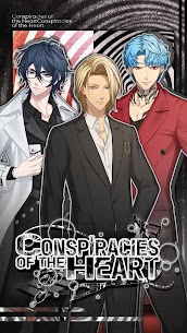 Conspiracies of the Heart: Otome Romance Game Mod Apk 3.0.14 (Free Points) 1