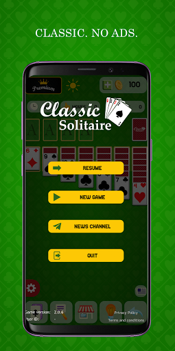 Classic Solitaire - Without Ads 2.0.5 screenshots 3