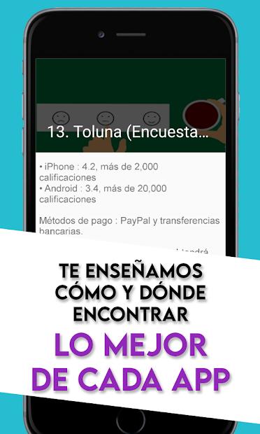 15 Apps para ganar dinero haciendo encuestas screenshot 3