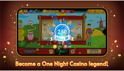 One Night Casino - Slots, Roulette 2.5.4001 screenshots 1