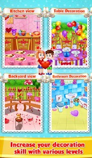Valentine Room Decoration Screenshot