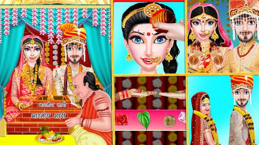 Indian Wedding Girl - Makeup Dressup Girls Game https screenshots 1