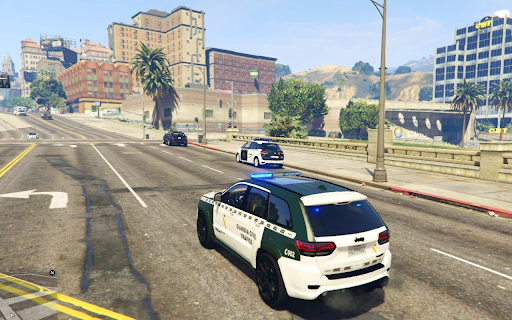 Police Car Gameud83dude93 - New Game 2021: Parking 3D apkpoly screenshots 5