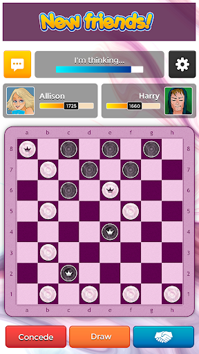 Checkers Plus - Board Social Games apkmr screenshots 4
