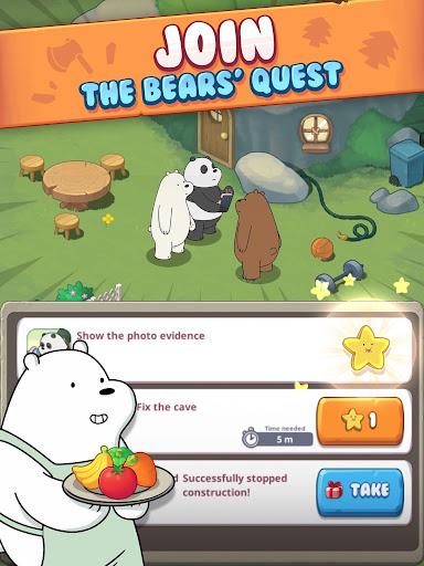 We Bare Bears: Match3 Repairs  screenshots 10