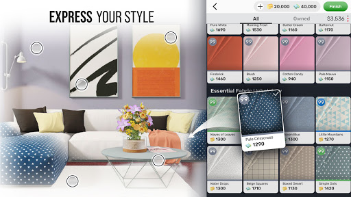 Home Design Star : Decorate & Vote screen 2