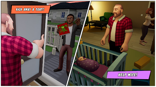 Angry Dad: Arcade Simulator Game  screenshots 3