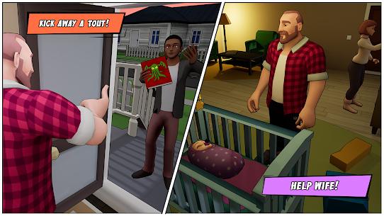 Angry Dad  Arcade Simulator Game Apk 2021 5
