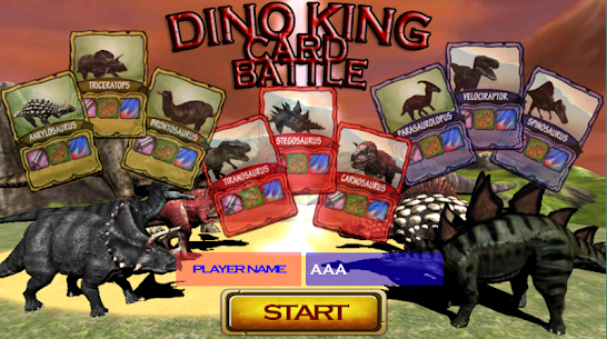 Dino King  Card For Pc – Free Download For Windows And Mac 1