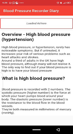 Blood pressure Tracker & bp diary 1.10 Screenshots 6