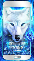 Surreal Wolf Keyboard Theme