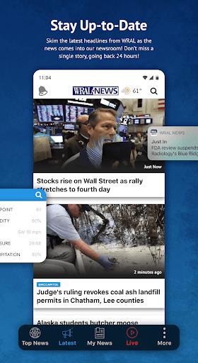 WRAL News App 6.0.23.1716 screenshots 2
