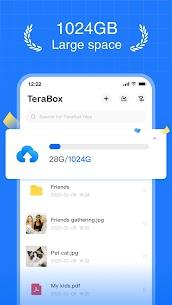 TeraBox Cloud Storage Premium v2.0.1 MOD APK 1