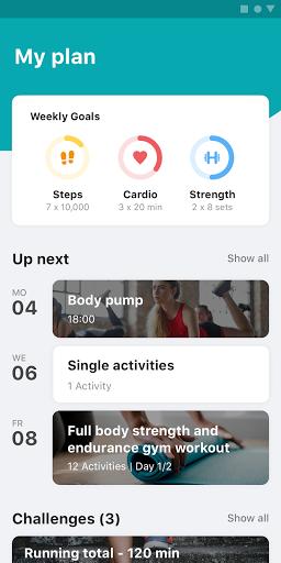 Tailored Health & Fitness Coac Apk 9.5.9 screenshots 1