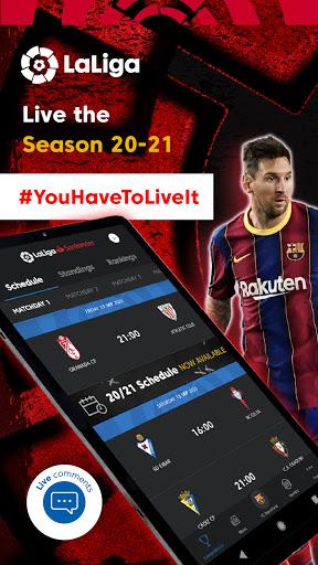 La Liga Official App - Live Soccer Scores & Stats 7.4.8 Screenshots 9