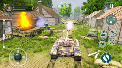 Battle of Tank games: Offline War Machines Games  screenshots 18