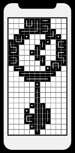 FCross Link-A-Pix puzzles 257 screenshots 7