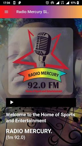 radio mercury sl screenshot 1