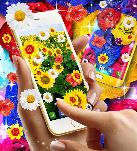 Flowers live wallpaper android2mod screenshots 4