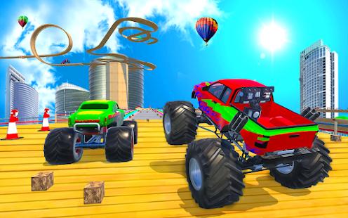 Hot Monster Big Wheels Stunt 0.1 APK +  (Unlimited money)