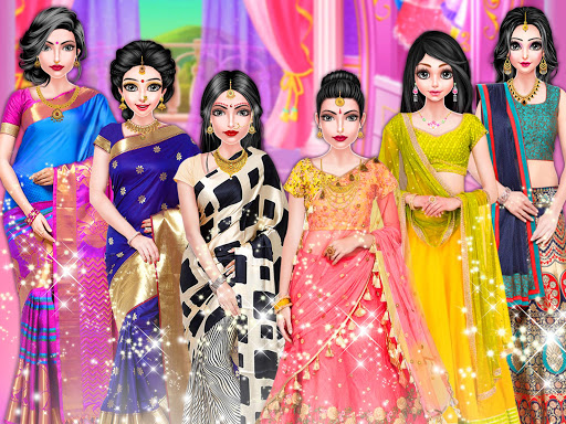 Indian Girl Salon - Indian Girl Games  Screenshots 12