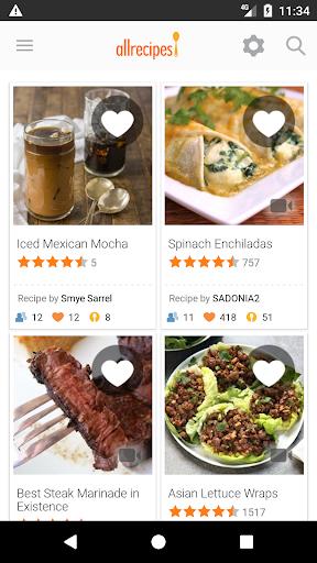 Allrecipes Dinner Spinner  Screenshots 1