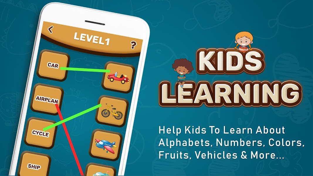 Kids Games - Kids Games, ABC, Number, Colors Learn
