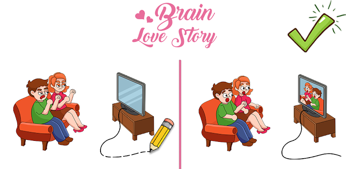 Brain Love Story - Brain Puzzle Games