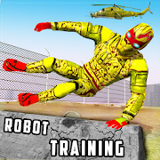 Super Light Speed Robot Training: Shooting Games