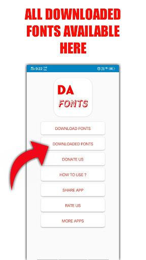 DA FONTS | Get Free Fonts apktram screenshots 5