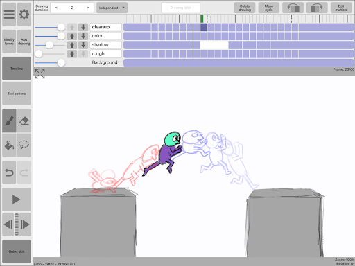 Download APK: RoughAnimator v2.05 (Paid)