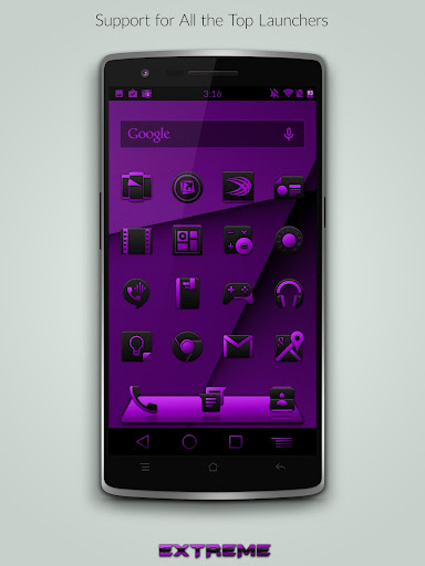 JB Extreme Launch Theme Purple For PC Windows (7, 8, 10, 10X) & Mac Computer Image Number- 6
